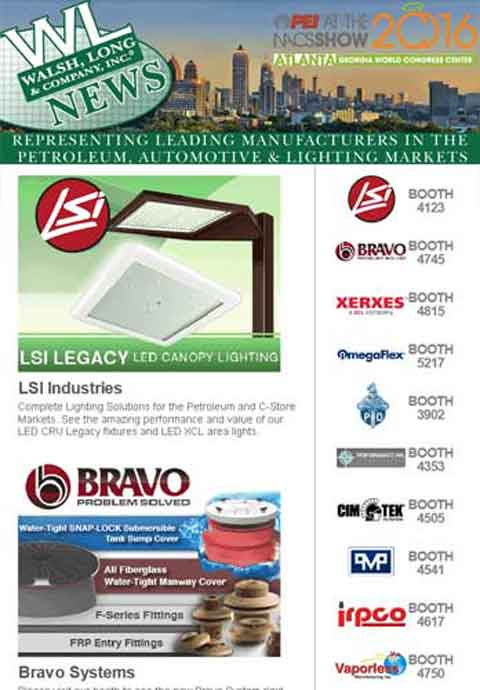 Walsh, Long & Co. PEI Trade Show Emarketing Email