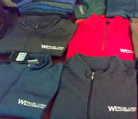 Walsh, Long & Co. Branded Clothing